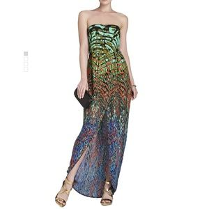 BCGB Draped Strapless Gown Size 2